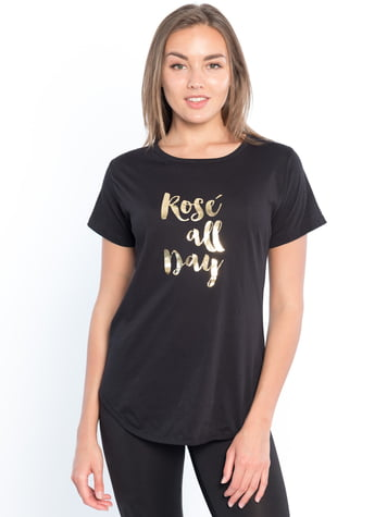 Rosé all Day Tunic Tee