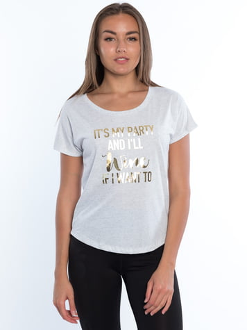 Wine Lover Phrases Dolman Tee