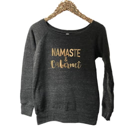 Sweat Shirts Wide Neck Sweatshirt