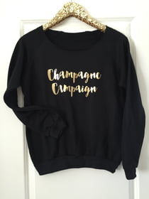 Sweat Shirts Champagne Campaign Sweatshirt