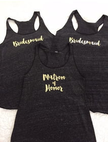 Matron of Honor Racerback Tank